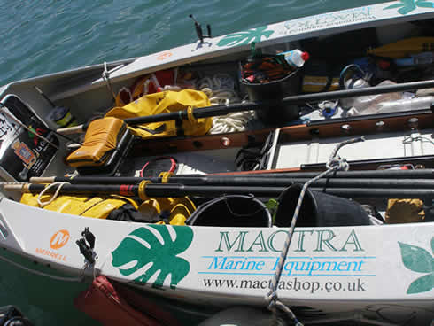 Mactra Marine Equipment - Ocean Rowers & Racers - Latest