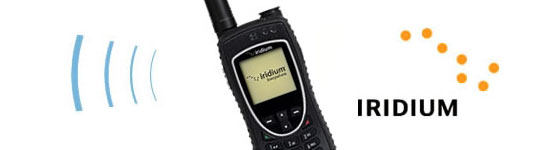 Satellite Telephone and Iridium Logo